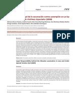 Responsabilidad legal de la vacunación contra sarampión en La ley y el orden Unidad de Victimas Especiales (2009)