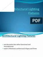 Architectural Lighting Fixtures