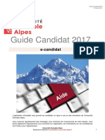 Guide Ecandidat Candidat 2017 1