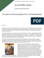 The Death of Krishna