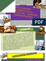 Derecho Administrativo - Antecedentes