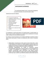 Plan de tratamiento en Endodoncia