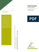 Brochure Constructora Pinedo y Ponce de León