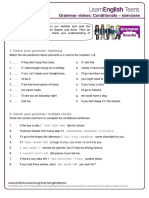 Gs Conditionals - Exercises