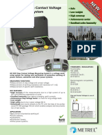 Single 2010 MI 3295 Step Contact Voltage Measuring System Ang