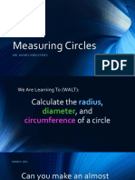 measuring circles