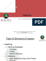 Lecture 12. Hashing