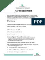 bitsat 2016 question paper.pdf