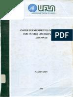 DISSERTAÇÃO_Análise de Experimentos Fatoriais de Dois Fatores Com Tratamentos Adicionais