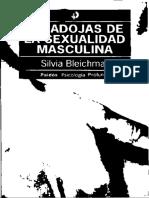 Bleichmar Silvia - Paradojas de La Sexualidad Masculina