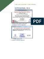 Pautas Para El Proceso de Instalacion v8.4