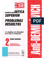 (AntiDemidovich_ Matemática Superior_ Problemas Resueltos) I.I. Liashkó... [et al.] _ traducido del ruso bajo la dirección de Viktoria O. Malishenko.-Cálculo Integral para Funciones de una Variable.pdf