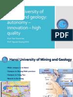 Viet-Pol 2015 HUMG Autonomy Innovation HighQuality