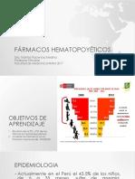 FÁRMACOS HEMATOPOYETICOS