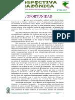 Prospectiva 284-2017 Una Nueva Oportunidad