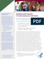 Building Family Capacity