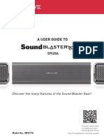 Sound Blaster Roar SR20A User Guide