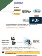Elaboración de Modelos Económicos