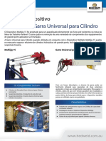Multijig 15 & Garra Universal Para Cilindro- Ficha Técnica Em Português
