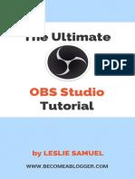 OBS Tutorial