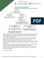 Algorithm for HBV During Pregnancy