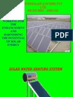 Presentation Solar Energy