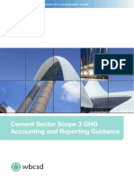 Cement Sector Scope 3 GHG Accounting and Reporting Guidance