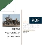 Thrust Vectoring