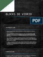 Blocks de Vidrio