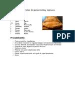 Empanadas de Queso Ricotta y Espinaca