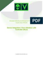 Device Integration Cisco WLC