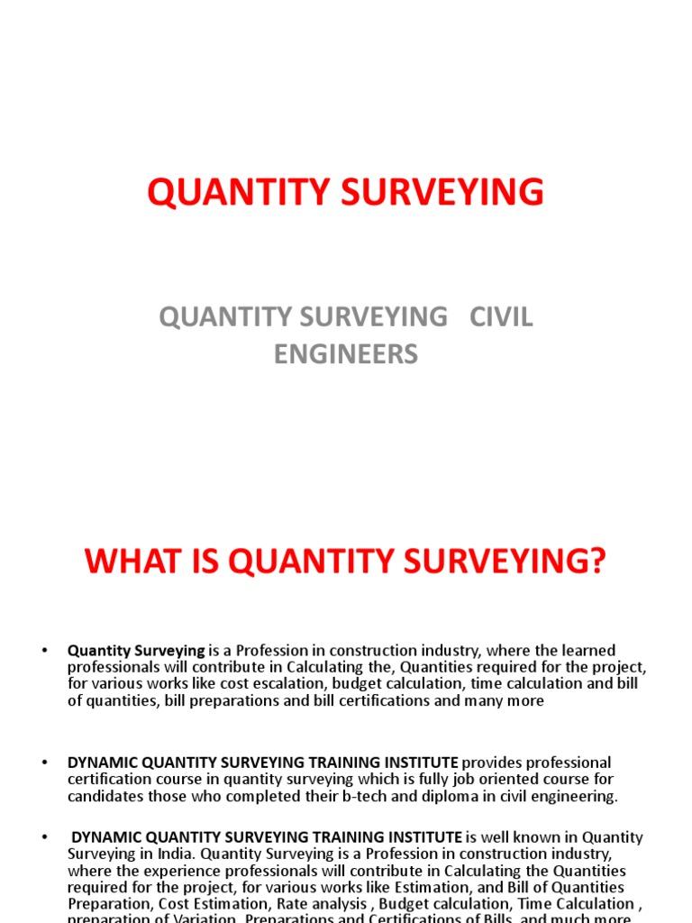 Mark humby quantity surveyor