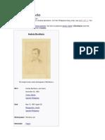 Life of Andres Bonifacio