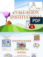 Introduccion a La Evaluacion Institucional