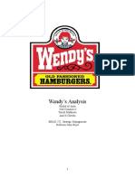 wendysanalysis.doc