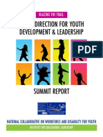 A New Direction for Youth Development and Leadership