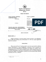 CIVIL - Yinlu Bicol Mining Corp vs Trans-Asia Oil and Energy Dev Corp - Mining Patents