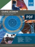 ICE Training Calendar
