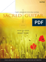 SACRED GUITAR - Complete Sheet Music Book