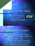 Cathodic Protection Testing