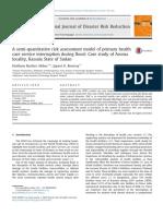 Abbas (2013) a Semi-quantitativeriskassessmentmodelofprimaryhealth Care Service Interruption During Flood Case Study of Aroma Locality Kassala State of Sudan
