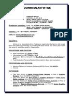 Resume (Kushal Mittal)