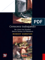 T15 - Robert Darnton - Censores Trabajando