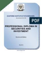 CIS Diploma Syllabus