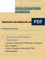 Chapter 4- Preventive and Predictive Maintenance