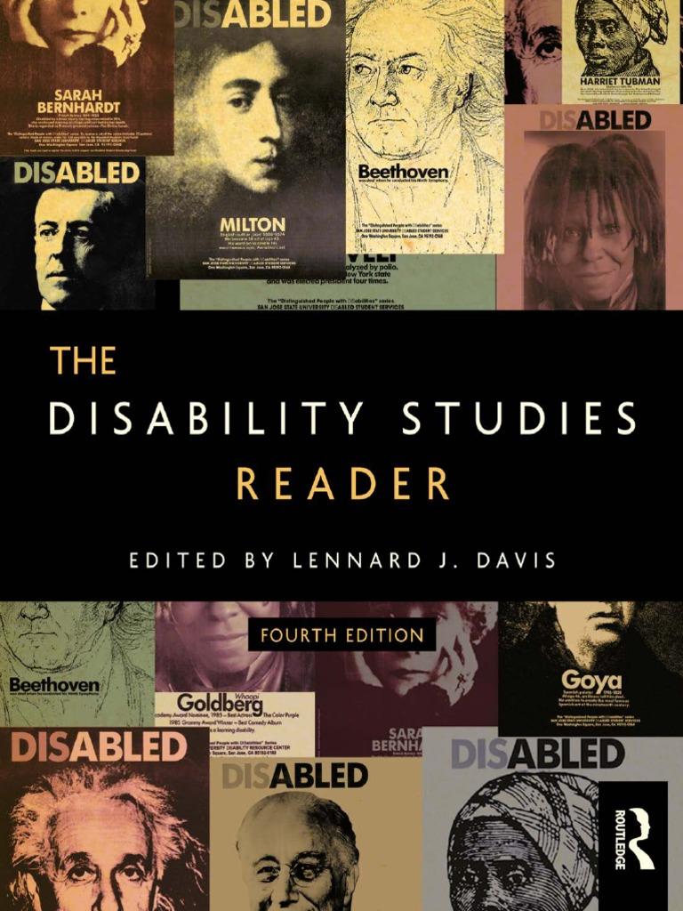 d8b1ce639a8 Lennard J. Davis (ed.)-The Disability Studies Reader-Routledge (2014).pdf