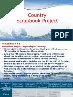 Scrapbook Project