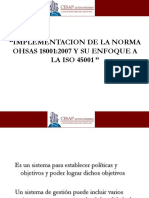 OHSAS 18001-2007 - ISO 45001 - CESAP