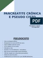 Pancreatite Cronica