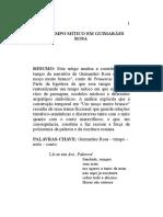Um Tempo Mítico Em Guimarães Rosa - Avaliação